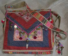 Bohemian messenger bag