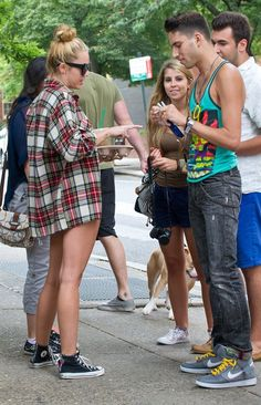 #miley #miley cyrus #celebrity #celebrities #plaid #flannel #grunge #style