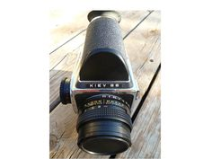 Camera Vintage Kiev 88 by ClearlyRustic on Etsy, $280.00
