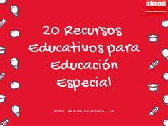 20 Recursos educativos para Educación especial Internet, Special Education, Future Gadgets, Autism, Thanks