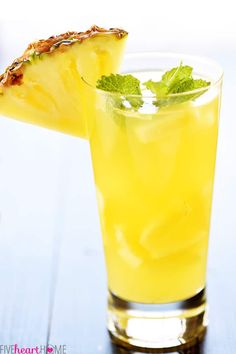 Pineapple Rum Sangria Is Almost Too Good To Be True - Simplemost Pineapple Rum Drinks, Pineapple Cocktail, Liquor Drinks, Cocktail Drinks, Alcoholic Drinks, Sangria Recipes, Cocktail Recipes, Drink Recipes, Keto Cocktails