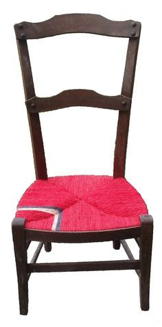 The Cardinal Chair with blue and white chevron. Sold it.