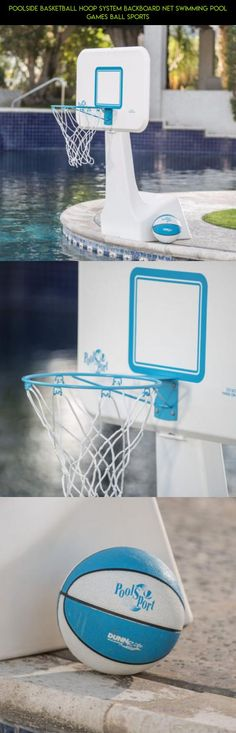 Poolside Basketball Hoop System Backboard Net Swimming Pool Games Ball Sports #camera #plans #technology #drone #products #fpv #parts #gadgets #poolside #hoop #shopping #racing #kit #tech #basketball