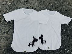 His & Hers donkey t-shirt