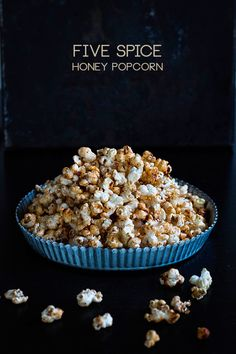 Five Spice Honey Popcorn by seelenschmeichelei.blogspot.de