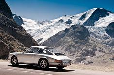 The Porsche 911 belongs in the Swiss Alps!!! Susten Pass, Switzerland! Chrissie