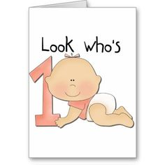White Baby Girl 1st Birthday Tshirts and Gifts Cards
