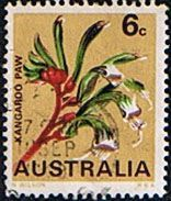 Australia State Floral Emblems Kangaroo Paw Fine Used SG 420 Scott 434  Other Australian Stamps HERE