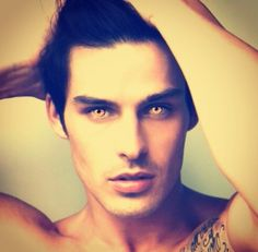 Akiva from Daughter of Smoke and Bone.. oh my god stars, hes beautiful.