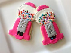 candy Gumball machine cookies