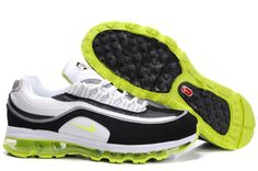 the latest c4e6f 29485 397252-102 Nike Air Max 24-7 White Bright Kiwi Black Metallic Silver  AMFM0555