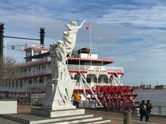 工業遺產的觀光化|蒸汽船遊密西西比河 Statue Of Liberty, Places, Travel, Statue Of Liberty Facts, Viajes, Statue Of Libery, Destinations, Traveling, Trips