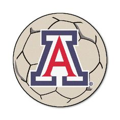 Ncaa University of Arizona Cream (Ivory) 2 ft. 3 in. x 2 ft. 3 in. Round Accent Rug