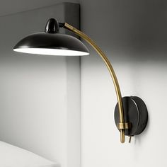 Saucer in Black Bronze with English Brass