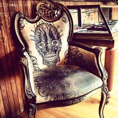 Beautiful Chair. I WANT ONE