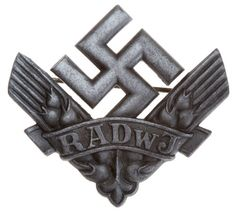 RADwJ War Helper Badge