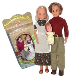 Sunshine family dolls.....loved these!