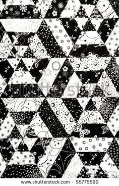 Black And White Quilt Patterns Clipart not an actual quilt Quilt patterns Photo quilts Quilts