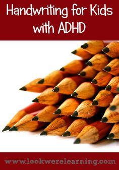 Children with ADHD often have trouble with handwriting. Use these suggestions to offer ADHD handwriting help to your kids! Adhd Odd, Adhd And Autism, Adhd Help, Essay Structure, Adhd Strategies, How To Start Homeschooling, School Today, School Ot, School Info