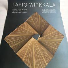 Collectable/ original vintage Tapio Wirkkala exhibition poster