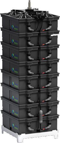 Aquion Energy - $1200, 2.4 kWh, 48V, 260lbs sealed salt water battery. Environmentally friendly.