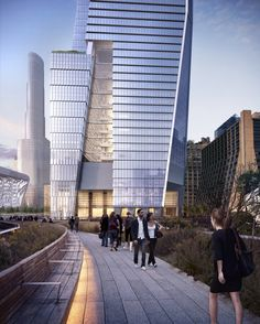 Hudson Yards from High Line_(c) Related Cos_rendering by_Visualhouse_Courtesy of KPF-2