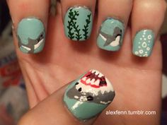 CHELSEY RIEF:  Shark Nails
