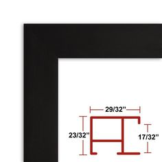 15 x 22 1/2 Satin Black Poster Frame - Profile: -97 Custom Size Picture Frame *** You can get more details by clicking on the image. (This is an affiliate link and I receive a commission for the sales)
