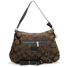 #Coach Outlet Store#Coach Legacy In Signature Medium Coffee Shoulder Bags ABA$62.99 .Don't miss out.