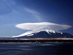 Mount Fuji mushroom cloud