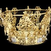 Bridal crown (brudkrona), 18th or 19th century. Museum no. 1354-1873