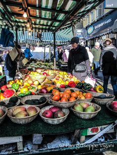 Fruit Market, Portobello Road
