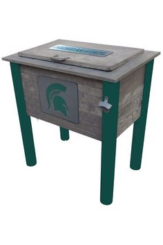 """Sparty is the mascot of Michigan State University. Sparty is usually depicted as a muscular male Spartan warrior/athlete dressed in stylized Greek costume. After changing the team name from """"Aggies"""" t"""