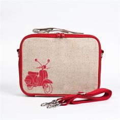 Eco Friendly Lunch Box - Red Scooter