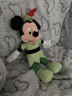 A post about my special Minnie Mouse and Mickey Mouse plush toys! Disney Plush, Disney Toys, Mickey Mouse Doll, Golden Girls, Stuffed Animals, Throw Pillows, Dolls, Disney Characters, Party