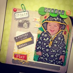 scrapbooking layout idea