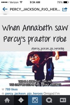 Percy jackson... oh gods, Rick, how do you do it? But does this mean all these characters ARE Rick caz he created it? I am so scared right now