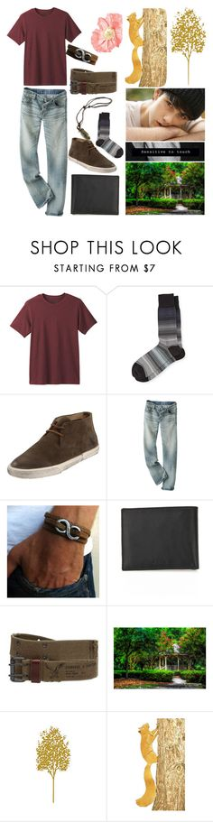"""""""Uriah 26"""" by stockmon ❤ liked on Polyvore featuring prAna, Paul Smith, Frye, Furla, Bullet, American Eagle Outfitters, men's fashion and menswear"""