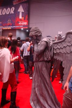 Weeping Angel-thou wouldst scare me to death.