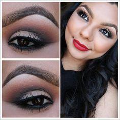 makeupbyjanny:  MAC Ruby Woo 3