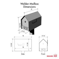 mailbox flag dimensions. The Walden Mailbox Flag Dimensions