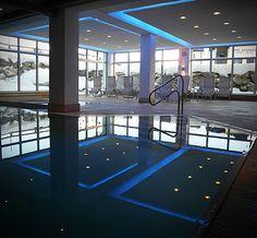 Indoor pool, Hotel Tyrol. Kühtai. http://ludwigs.nl/kuhtai-4-reasons-to-visit-this-highest-ski-village-in-austria/