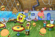 SpongeBob SquarePants TV show is renewed for season 12 on Nickelodeon. Are you still watching SpongeBob? Spongebob Episodes, New Spongebob, Spongebob Patrick, Looney Tunes, Animated Halloween Movies, Marvel Universe, Wallpaper Spongebob, Stephen Hillenburg, Nickelodeon