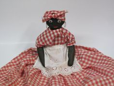 Vintage  Aunt Jemima Doll Toaster Cover OOAK by MyAlexasStore