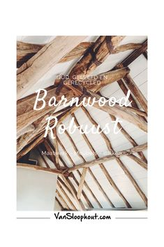 Barnwood / Oud hout / Gebruikt / Oude balken  Barnwood robuust. Wij verwerken dit in verschillende producten. We maken er tafels, kasten en andere maatwerk producten mee. Maar we verkopen ze ook gewoon als losse balken.  #barnwood #eikenhout #oak #sloophout #reclaimedwood #oldwood #woodworking #meubelen #meubels #maatwerk #custommade #interieur #interior #interieurinspiratie #wonen #zelfklussen #doityourself #groothandel #rucphen #houthandel #home #living #industrieel #industrieelwonen
