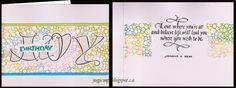 CAS card, plain & die cut masking, watercolor stamping, Quietfire Design sentiment & Quote  stamps - http://yogiemp.blogspot.ca/2015/01/mc-jan15-cas-birthday-joy.html