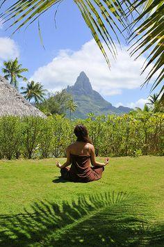 relaxation at Deep Ocean Spa at InterContinental Bora Bora Resort & Thalasso Spa