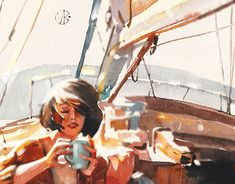 """Check out new work on my @Behance portfolio: """"Girls"""" http://be.net/gallery/63532793/Girls"""