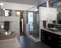 Modern Bathroom Master Bath Design, Pictures, Remodel, Decor and Ideas - page 4