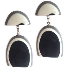 THESE STATEMENT EARRINGS ARE AN EASY WAY TO CREATE A DRAMATIC LOOK – THE POLISHED RESIN PEBBLES HANG FROM STUDS & WILL ATTRACT ADMIRATION! Button Jewellery, Jewelry, Statement Earrings, Drop Earrings, Dramatic Look, Aw17, Happy Shopping, Studs, Resin